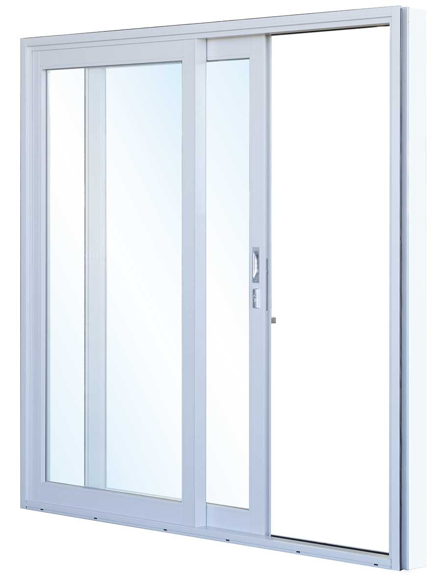 Impact sliding glass door alenac associates for Sliding entry doors